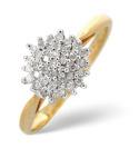9K Yellow Gold 0.25Ct Diamond Ring From Catalina Diamonds C3140