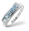 9K White Gold Sky Blue topaz Ring From Catalina Diamonds Y2021