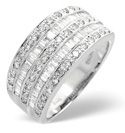 18K White Gold 1Ct Diamond Ring From Catalina Diamonds L1337