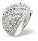9K White Gold 0.5Ct Diamond Ring From Catalina Diamonds C1913