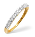 9K Yellow Gold 0.15Ct Diamond Ring From Catalina Diamonds C2009