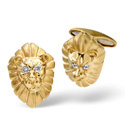 9K Yellow Gold 0.03Ct Diamond Gifts/Cufflinks From Catalina Diamonds E1384