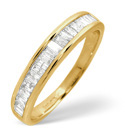 9K Yellow Gold 0.5Ct Diamond Ring From Catalina Diamonds C2044