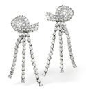 18K White Gold 2.46Ct Diamond Earrings From Catalina Diamonds N1145