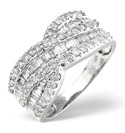 18K White Gold 1Ct Diamond Ring From Catalina Diamonds L1517