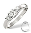 Platinum 0.5Ct Diamond Ring From Catalina Diamonds Q1131