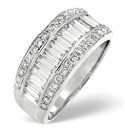 18K White Gold 1.5Ct Diamond Ring From Catalina Diamonds L1837