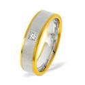 0.07CT G/VS Diamond Round Wedding Band Ring Palladium from Catalina Diamonds WB13-7VSP