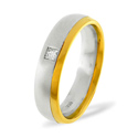 0.08CT H/SI Diamond Round Wedding Band Ring 18K White Gold from Catalina Diamonds WB13-8HSW
