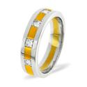 0.35CT H/SI Diamond Round Wedding Band Ring Palladium from Catalina Diamonds WB13-35HSP