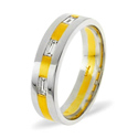 0.14CT H/SI Diamond Round Wedding Band Ring Palladium from Catalina Diamonds WB13-14HSP
