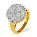 0.54CT Diamond Ring 18K White Gold from Catalina Diamonds PV06