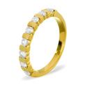 0.07CT H/SI Diamond Round Wedding Band Ring 18K White Gold from Catalina Diamonds WB13-8VSP5