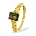 Mystic Topaz Ring 9K Yellow Gold from Catalina Diamonds Y2183