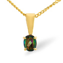 Mystic Topaz Pendant 9K Yellow Gold from Catalina Diamonds Z1431
