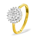 0.5CT Diamond Ring 9K Yellow Gold from Catalina Diamonds SKU12