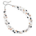 Silver Fresh Water Pearl Necklace From Elements Silver N2510